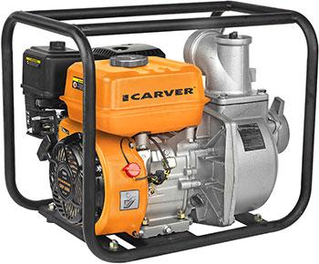 Мотопомпа CARVER CGP 6080 01.022.00006 мотопомпа carver cgp 259 2