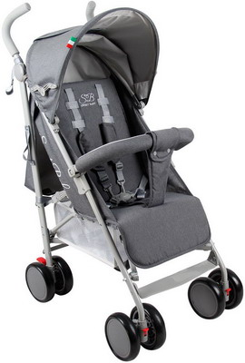 Коляска Sweet Baby Denim Grey дождевики valco baby для коляски snap