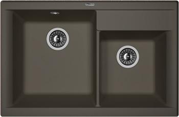 Кухонная мойка Florentina Касси 780 780х510 антрацит FSm zumman fsm 881