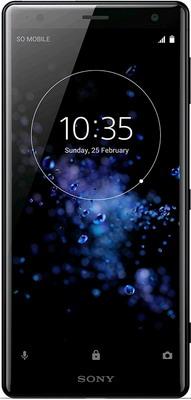 Смартфон Sony Xperia XZ2 Liquid Black wierss розовый для sony xz2