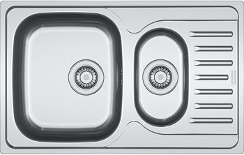 Кухонная мойка FRANKE POLAR нерж PXL 651-78 101.0192.923 franke pxl 611 60 нерж сталь зеркальная