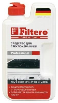 Средство для ухода за стеклокерамикой Filtero Арт.202 бытовая химия xaax ополаскиватель для посудомоечной машины 500 мл