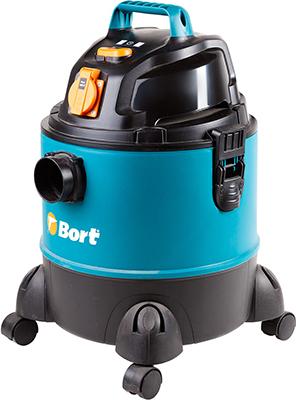 Строительный пылесос Bort BSS-1220-Pro (98291797) пылесос с контейнером bort bss 1220 pro