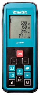 Дальномер лазерный Makita LD 100 P дальномер лазерный makita ld 100 p