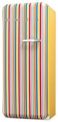 Однокамерный холодильник Smeg FAB 28 LCS1 однокамерный холодильник smeg fab 28 rr1