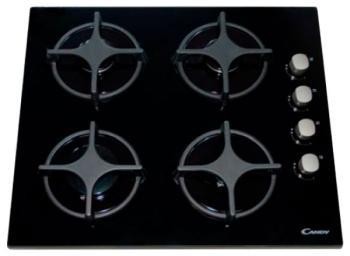 Встраиваемая газовая варочная панель Candy PVL 64 SGN встраиваемая газовая варочная панель candy clgc 64 sp gh