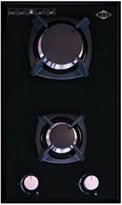 Встраиваемая газовая варочная панель MBS PG-302 Black варочная поверхность mbs pg 302bl