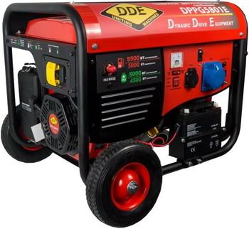 Электрический генератор и электростанция DDE DPPG 5801 E грязевая мотопомпа dde ptr80h