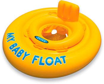 Надувной круг Intex My Baby Float