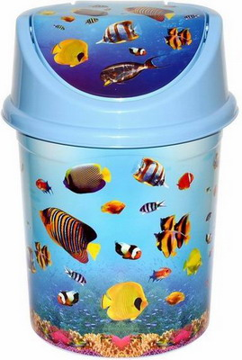 Ведро для мусора Виолет Океан 0408/79 violet 0408