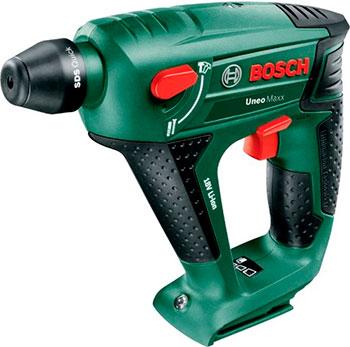 Перфоратор Bosch Uneo Maxx без АКБ и з/у 060395230 C перфоратор аккумуляторный bosch uneo maxx 0 603 952 30c