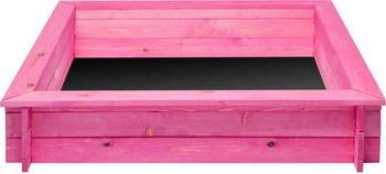 Песочница Paremo Афродита (4 лавки  пропитка  подложка) PS 117 розовая