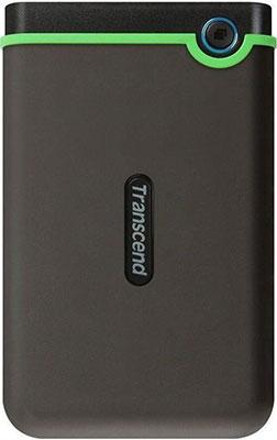 Внешний жесткий диск (HDD) Transcend USB 3.0 2Tb TS2TSJ 25 M3 StoreJet 25 M3 2.5'' серый жесткий диск transcend 2tb storejet 100 ts2tsjm100