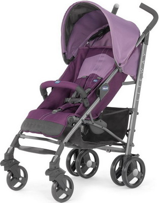 Коляска Chicco LITE WAY TOP Purple (с бампером) 07079547350000 chicco lite way top отзывы