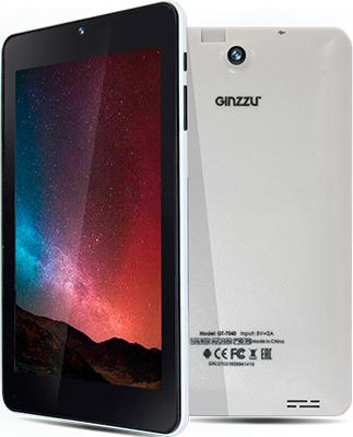 Планшет Ginzzu GT-7040 белый планшет ginzzu gt x770 black mtk8735m 1