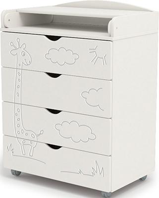 Пеленальный комод Sweet Baby Venerdi Bianco (Белый) Жираф 382 034