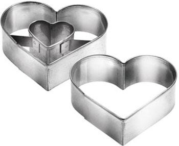 купить Формочки для печенья с начинкой Tescoma сердце DELICIA 631190 по цене 175 рублей