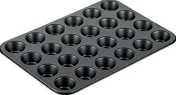 Форма для выпечки Tescoma для 24 мини-кексов DELICIA 38 x 26 cm 623226 форма для выпечки tescoma delicia 36 x 25см 623042
