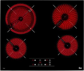 Встраиваемая электрическая варочная панель Teka TT 6420 электрическая варочная панель teka tb 630