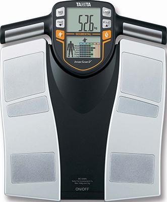 Весы напольные TANITA BC-545 N Silver весы напольные tanita bc 313 w