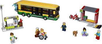 Конструктор Lego CITY Town Автобусная остановка