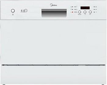 Компактная посудомоечная машина Midea MCFD-55300 W стиральная машина midea abwm610s7