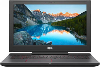 Ноутбук Dell Inspiron 7577-5457 черный brand new orig laptop case for dell inspiron master 7577 7587 layout us red backlit keyboard and touchpad palmrest t08kt 0t08kt