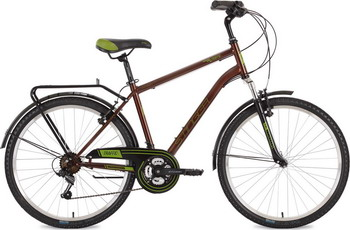 Велосипед Stinger 26'' Traffic 20'' коричневый 26 SHV.TRAFFIC.20 BN7 велосипед stinger valencia 2017