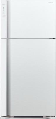 Фото - Двухкамерный холодильник Hitachi R-V 662 PU7 PWH белый двухкамерный холодильник hitachi r v 472 pu3 pwh