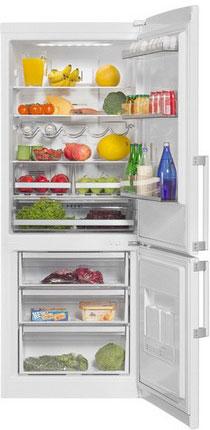 Двухкамерный холодильник Vestfrost VF 466 EW двухкамерный холодильник vestfrost vf 465 eb