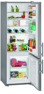 Двухкамерный холодильник Liebherr CUef 2811 двухкамерный холодильник liebherr ctpsl 2541