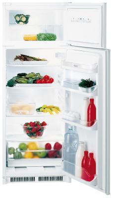 Встраиваемый двухкамерный холодильник Hotpoint-Ariston BD 2422/HA двухкамерный холодильник don r 297 b
