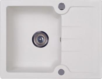 Кухонная мойка Kuppersberg MODENA 1B1D WHITE ALABASTER (7037)
