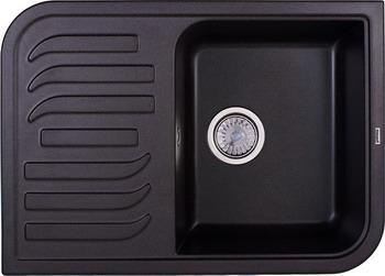 Кухонная мойка Weissgauff SOFTLINE 695 Eco Granit графит  weissgauff softline 780 eco granit светло бежевый