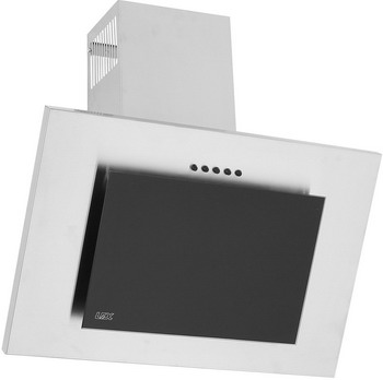 Вытяжка со стеклом Lex MINI 600 INOX вытяжка lex mini 600 inox настенная механическое 37дб 420м3 час нержавеющая сталь черное стекло