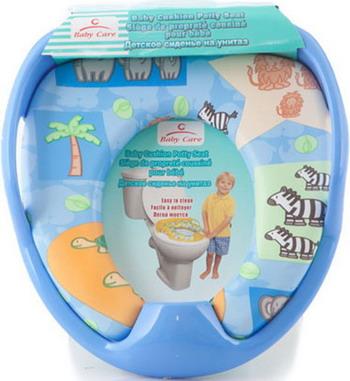 Сиденье для унитаза Baby Care РМ 2399 D 26 синий рм 350 редуктор в москве