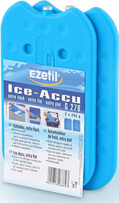 Аккумулятор холода Ezetil Ice Akku G 270 2*245 gr бейсболка columbia columbia co214cuaucx8