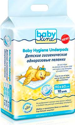 Пеленки Babyline 90х60 см 10 шт.