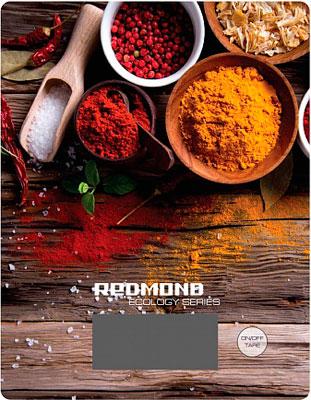 Кухонные весы Redmond RS-736 (специи) электронные кухонные весы redmond rs 736 flower