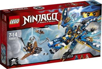 Конструктор Lego Ninjago Дракон Джея 70602 hunting picatinny rail 4 25 inch handguard rail cqb tactical rail systems for aeg m4 m16