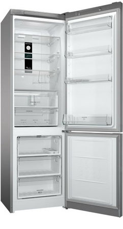Двухкамерный холодильник Hotpoint-Ariston HF 9201 X RO hotpoint ariston lfta 5h1741 x