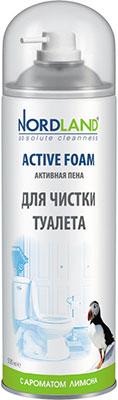Пена для чистки туалета NORDLAND с ароматом лимона  500 мл. (600053) пена nordland для чистки стеклянных и зеркальных поверхностей 500 мл