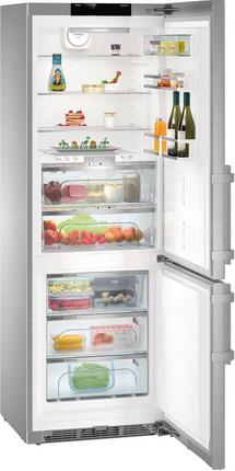 Двухкамерный холодильник Liebherr CBNPes 5758 встраиваемый двухкамерный холодильник liebherr icbs 3224