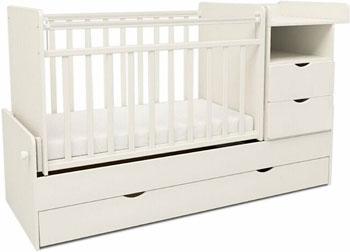 Детская кроватка Sweet Baby Valentino Bianco (Белый)