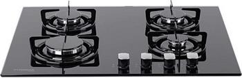 Встраиваемая газовая варочная панель Pyramida PFG 646 BLACK