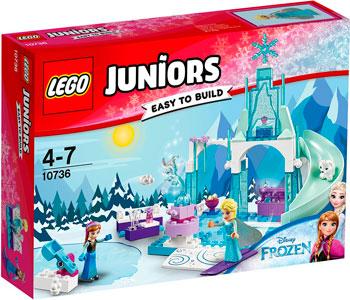 Конструктор Lego Juniors Игровая площадка Эльзы и Анны 10736