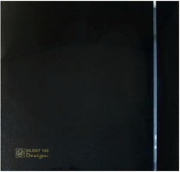 Вытяжной вентилятор Soler amp Palau Silent-100 CRZ Design 4C (черный) 03-0103-156 вентилятор solerpalau silent 200 crz silver design 3с