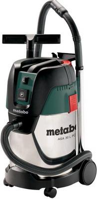 Строительный пылесос Metabo ASA 30 L PC Inox 602015000 строительный пылесос dewalt dwv 902 l