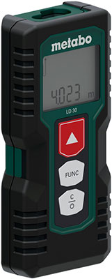 Дальномер лазерный Metabo LD 30 30 м 606162000 дальномер лазерный makita ld 100 p