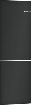 Навесная панель на двухкамерный холодильник Bosch VarioStyle KGN 39 IJ 3 AR со сменной панелью Цвет: Черный матовый навесная панель на двухкамерный холодильник bosch variostyle kgn 39 ij 3 ar со сменной панелью цвет мятно зеленый